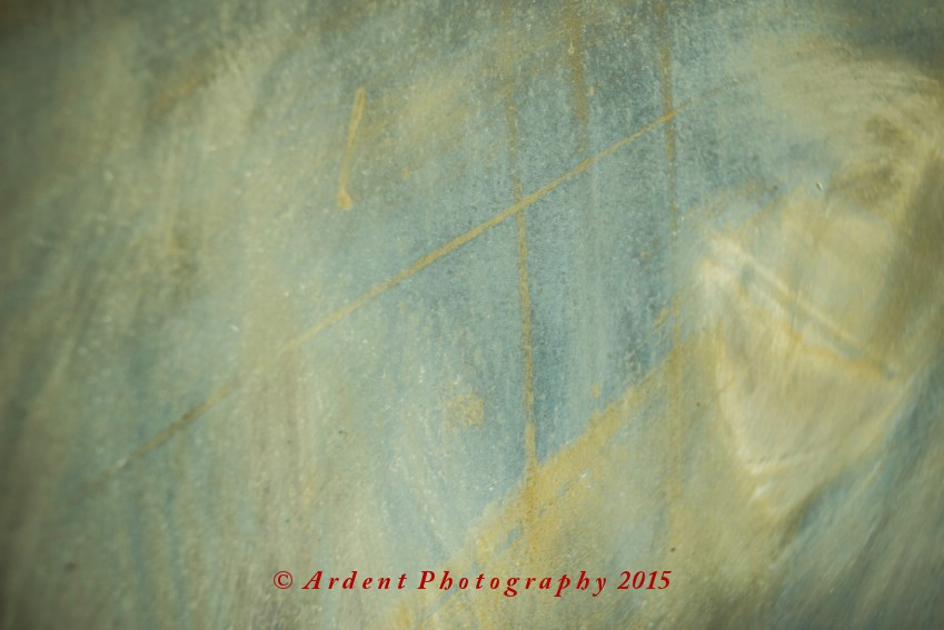 Sanded Metal Abstract Photograph