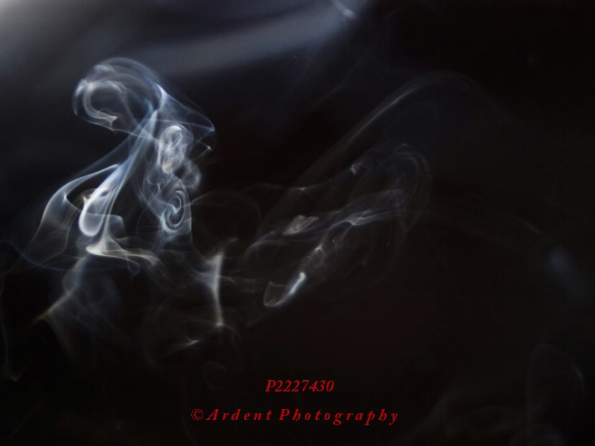 Smoke Abstract by Sarah McTernen