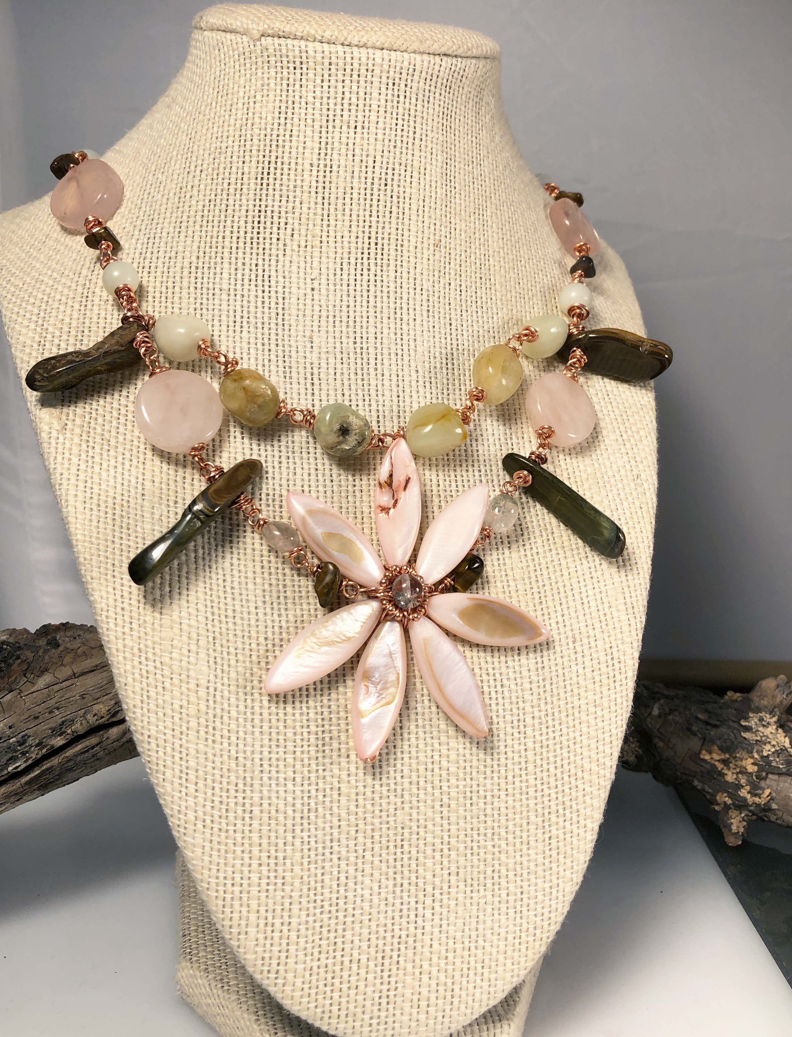 Blossoming Nirvanan Necklace